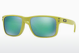 Ophthalmic Glasses Oakley HOLBROOK (OO9102 910272) - Green, Yellow