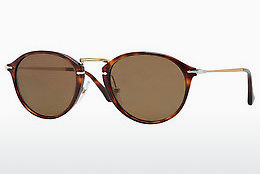 Ophthalmic Glasses Persol PO3046S 24/57 - Brown, Havanna