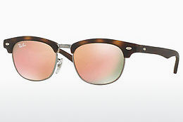 Ophthalmic Glasses Ray-Ban Junior Junior Clubmaster (RJ9050S 70182Y) - Brown, Havanna