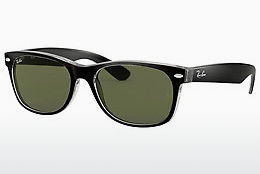 Ophthalmic Glasses Ray-Ban NEW WAYFARER (RB2132 6052) - Black, Transparent