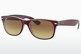Ophthalmic Glasses Ray-Ban NEW WAYFARER (RB2132 605485) - Red, Transparent