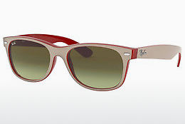 Ophthalmic Glasses Ray-Ban NEW WAYFARER (RB2132 6307A6) - White, Red