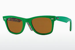 Ophthalmic Glasses Ray-Ban WAYFARER (RB2140 1140) - Green, Patterned