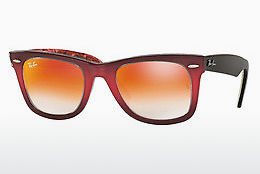 Ophthalmic Glasses Ray-Ban WAYFARER (RB2140 12004W) - Pink, Brown