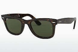 Ophthalmic Glasses Ray-Ban WAYFARER (RB2140 902) - Brown, Havanna