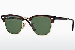 Ophthalmic Glasses Ray-Ban CLUBMASTER FOLDING (RB2176 990) - Brown, Havanna