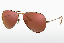 Ophthalmic Glasses Ray-Ban AVIATOR LARGE METAL (RB3025 167/2K) - Brown