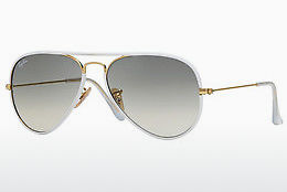 Ophthalmic Glasses Ray-Ban AVIATOR FULL COLOR (RB3025JM 146/32) - Gold