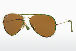 Ophthalmic Glasses Ray-Ban AVIATOR FULL COLOR (RB3025JM 169) - Gold