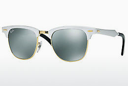 Ophthalmic Glasses Ray-Ban CLUBMASTER ALUMINUM (RB3507 137/40) - White