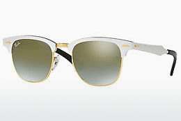 Ophthalmic Glasses Ray-Ban CLUBMASTER ALUMINUM (RB3507 137/9J) - White