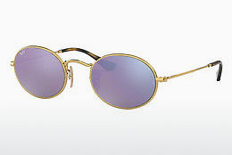 Ophthalmic Glasses Ray-Ban Oval (RB3547N 001/8O) - Gold