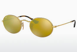Ophthalmic Glasses Ray-Ban Oval (RB3547N 001/93) - Gold