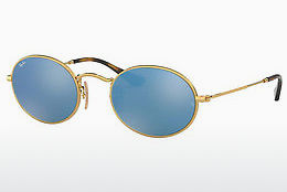 Ophthalmic Glasses Ray-Ban Oval (RB3547N 001/9O) - Gold