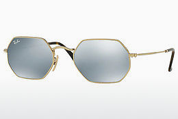 Ophthalmic Glasses Ray-Ban Octagonal (RB3556N 001/30) - Gold
