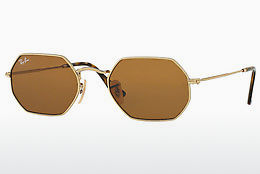 Ophthalmic Glasses Ray-Ban Octagonal (RB3556N 001/33) - Gold