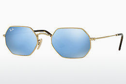 Ophthalmic Glasses Ray-Ban Octagonal (RB3556N 001/9O) - Gold