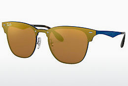 Ophthalmic Glasses Ray-Ban Blaze Clubmaster (RB3576N 90377J) - Orange, Blue