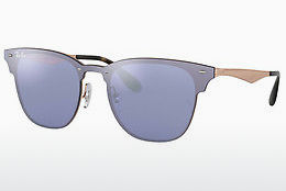 Ophthalmic Glasses Ray-Ban Blaze Clubmaster (RB3576N 90391U) - Blue, Brown