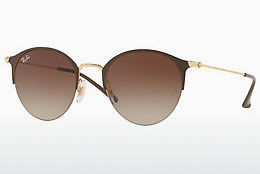 Ophthalmic Glasses Ray-Ban RB3578 900913 - Gold, Brown