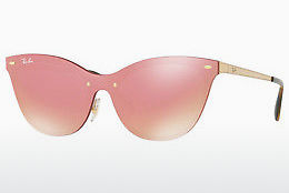 Ophthalmic Glasses Ray-Ban Blaze Cat Eye (RB3580N 043/E4) - Pink, Gold