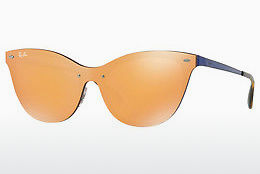 Ophthalmic Glasses Ray-Ban Blaze Cat Eye (RB3580N 90377J) - Orange, Blue