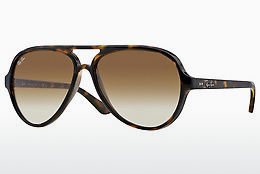 Ophthalmic Glasses Ray-Ban CATS 5000 (RB4125 710/51) - Brown, Havanna