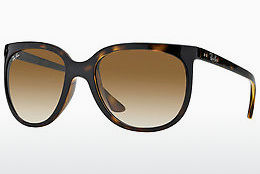 Ophthalmic Glasses Ray-Ban CATS 1000 (RB4126 710/51) - Brown, Havanna