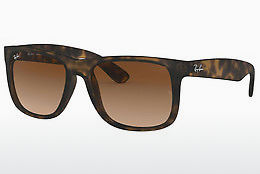 Ophthalmic Glasses Ray-Ban JUSTIN (RB4165 710/13) - Brown, Havanna