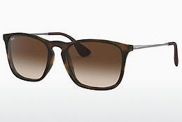 Ophthalmic Glasses Ray-Ban CHRIS (RB4187 856/13) - Brown, Havanna