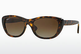 Ophthalmic Glasses Ray-Ban RB4227 710/T5 - Brown, Havanna
