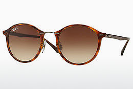 Ophthalmic Glasses Ray-Ban Round Ii Light Ray (RB4242 620113) - Brown, Havanna