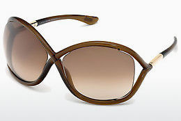 Ophthalmic Glasses Tom Ford Whitney (FT0009 692) - Brown, Dark, Shiny