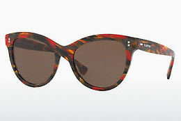 Ophthalmic Glasses Valentino VA4013 504073 - Red, Brown, Havanna