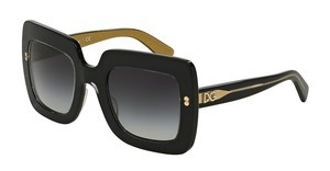 Dolce & Gabbana DG4263 29558G GREY GRADIENTTOP BLACK ON GOLD