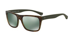 Emporio Armani EA4048 53946R LIGHT GREEN MIRROR PETROLTOP HAVANA/MATTE GREEN