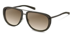 Jil Sander J1002 D sun protect brown gradient - 77%grey brown