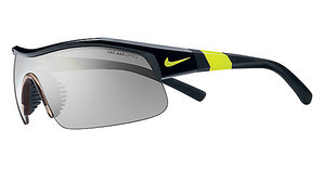 Nike SHOW X1 EV0617 007 BLACK/VOLT WITH GREY W/ SILVER FLASH/OUTDOOR TINT LENS