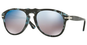 Persol PO0649 1062O4 GREY MIRROR BLUESPOTTED BLUE DARK GREY