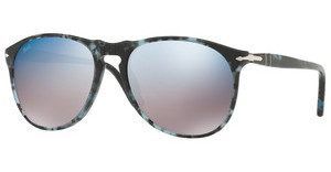Persol PO9649S 1062O4 GREY MIRROR BLUESPOTTED BLUE DARK GREY