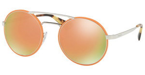 Prada PR 51SS VHS2D2 GREY MIRROR ROSE GOLDSILVER/ORANGE