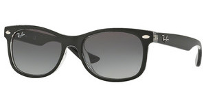 Ray-Ban Junior RJ9052S 702211 GRADIENT GREYMATTE BLACK ON TRASPARENT