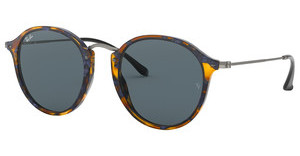Ray-Ban RB2447 1158R5 BLUESPOTTED BLUE HAVANA