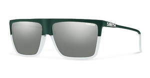 Smith CORNICE WJZ/I6 PLATINUM SLV SPGREEN CRY