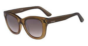 Valentino V706S 218 TRANSPARENT ARMY GREEN