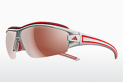 Ophthalmic Glasses Adidas Evil Eye Halfrim Pro L (A167 6070) - Silver, Red