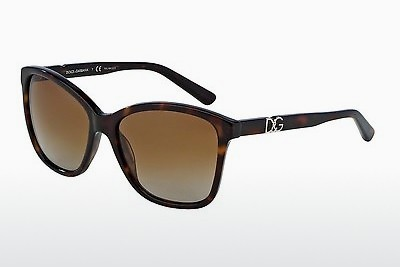 Ophthalmic Glasses Dolce & Gabbana ICONIC LOGO (DG4170P 502/T5) - Transparent, Brown, Havanna