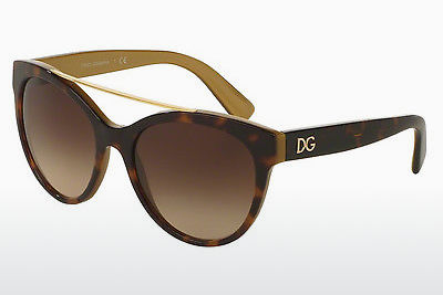 Ophthalmic Glasses Dolce & Gabbana DG4280 295613 - Brown, Havanna, Gold