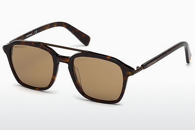 Ophthalmic Glasses Dsquared DQ0245 52E - Brown, Havanna