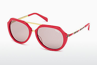 Ophthalmic Glasses Emilio Pucci EP0032 66E - Red, Shiny